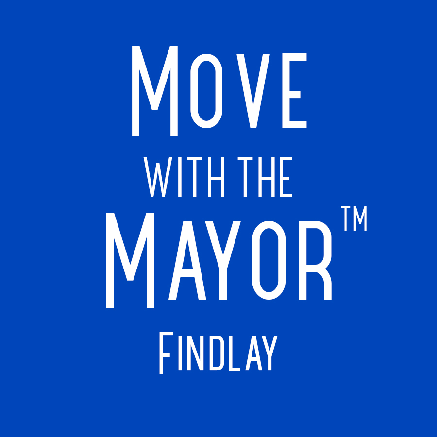 Blue Move with the Mayor Findlay logo