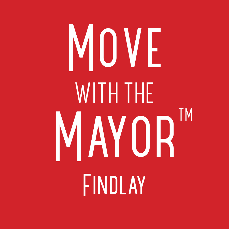 Red Move with the Mayor Findlay logo