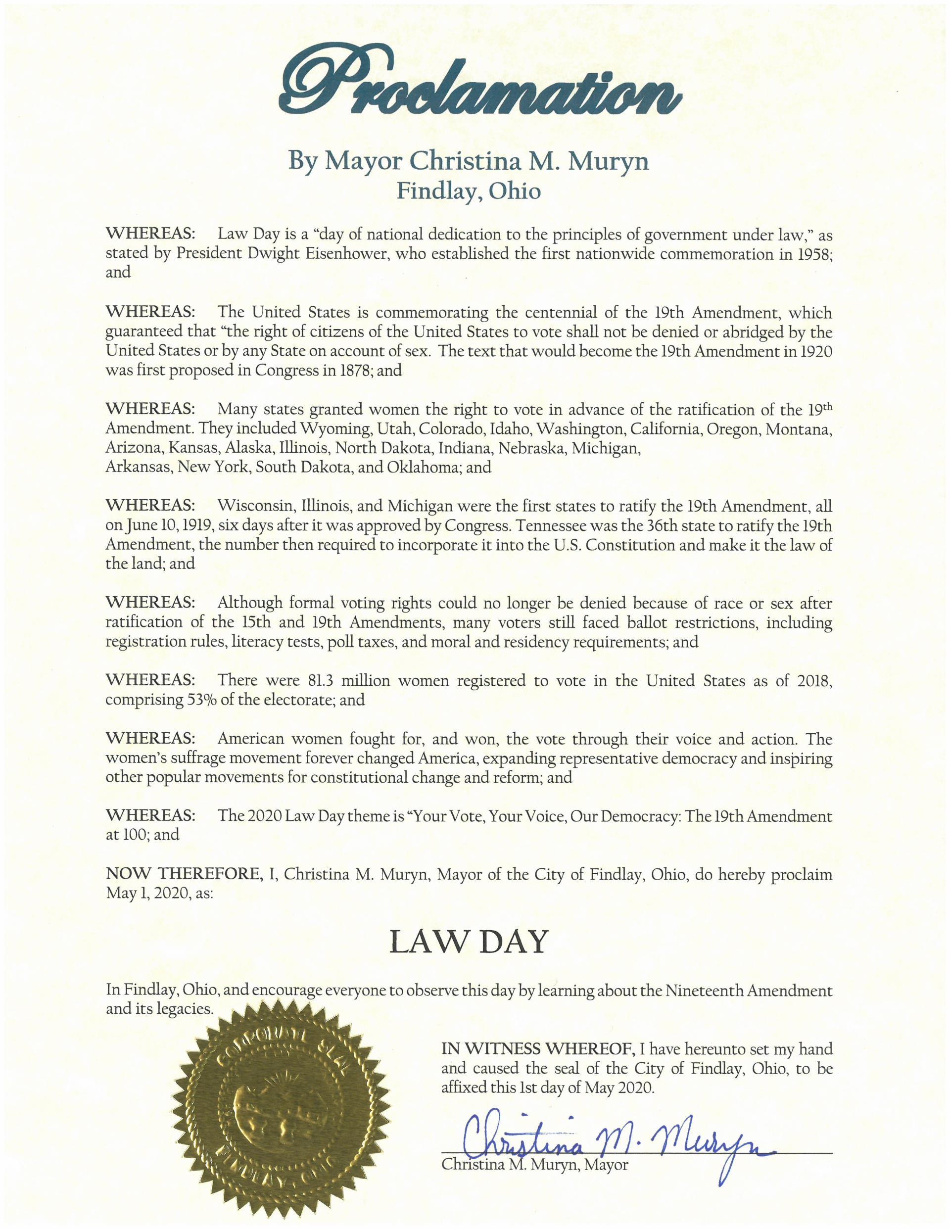 2020.05.01.Law Day Proclamation