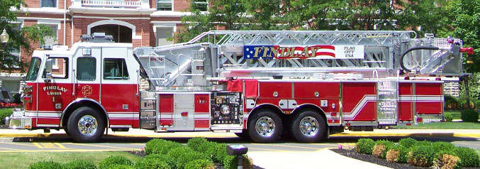 Findlay fire engine