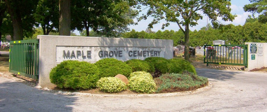 Maple Grove Cemetery Fondlay OH