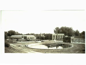 Water Pollution Control Center Historical Photo