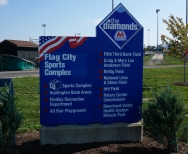 Flag City Sports Complex Sign