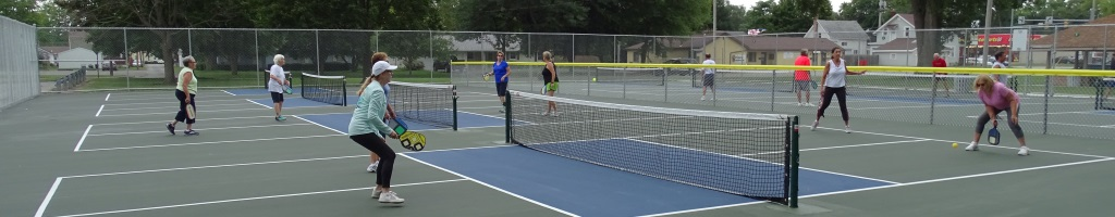 Pickle Ball Play