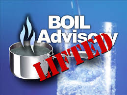 Boil Adviosry Lifted